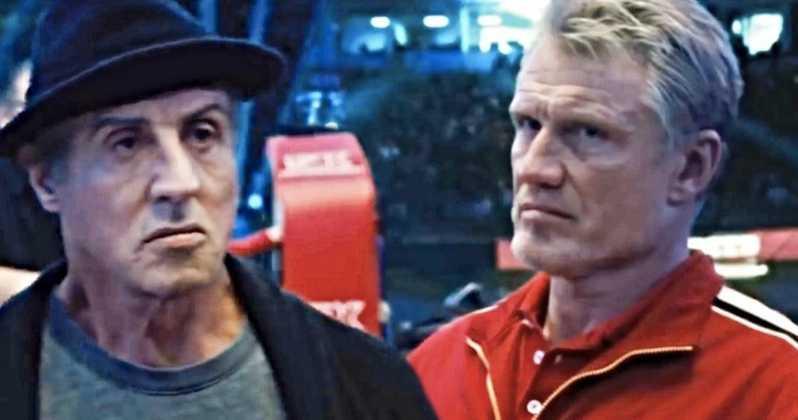 Creed 2: Rocky Balboa saluta definitivamente Ivan Drago in una scena tagliata