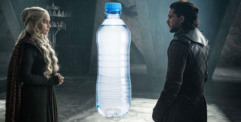 Game of Thrones: lasciata una bottiglietta di plastica in scena nella puntata 8×06