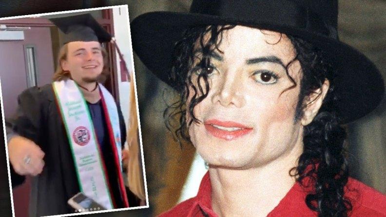 Michael Jackson: il figlio Prince si è laureato in Economia aziendale