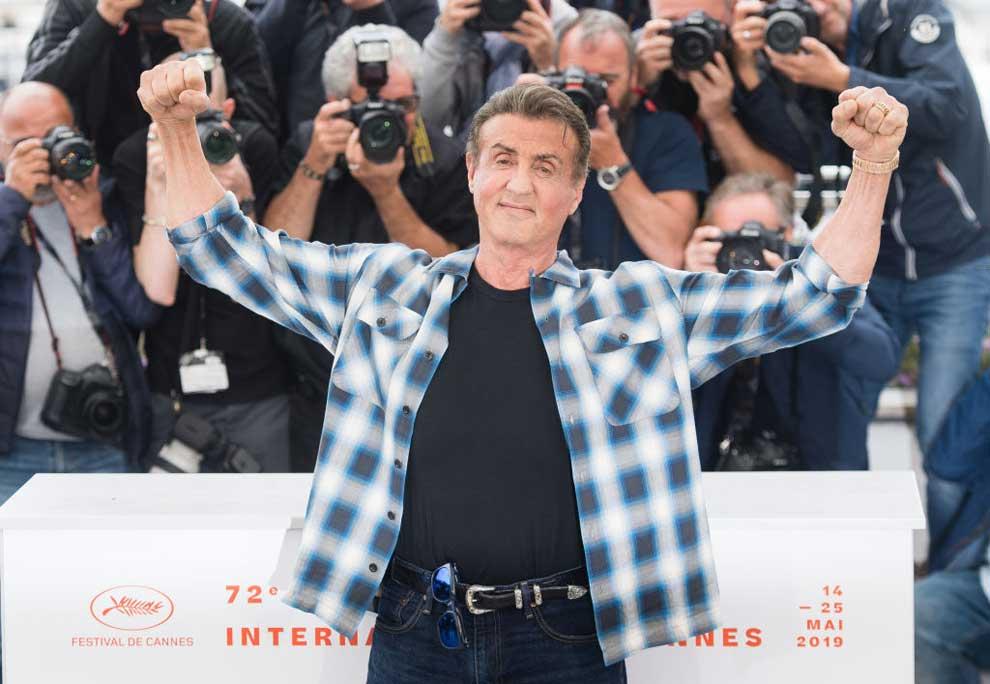 Sylvester Stallone a Cannes parla di Rambo e Rocky