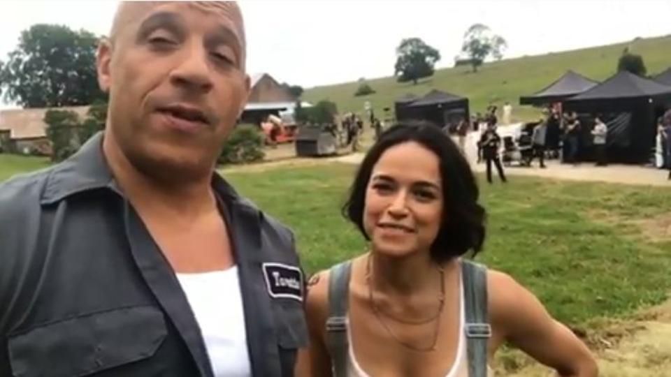 Fast & Furious 9: Vin Diesel e Michelle Rodriguez in azione nel primo video e nelle foto dal set