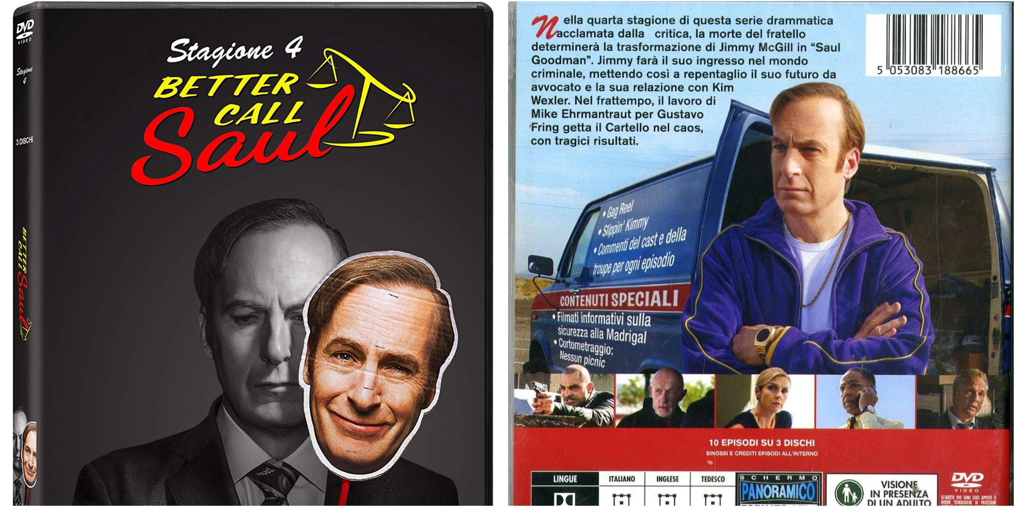 """""""Better Call Saul"""" – DVD della quarta stagione"""