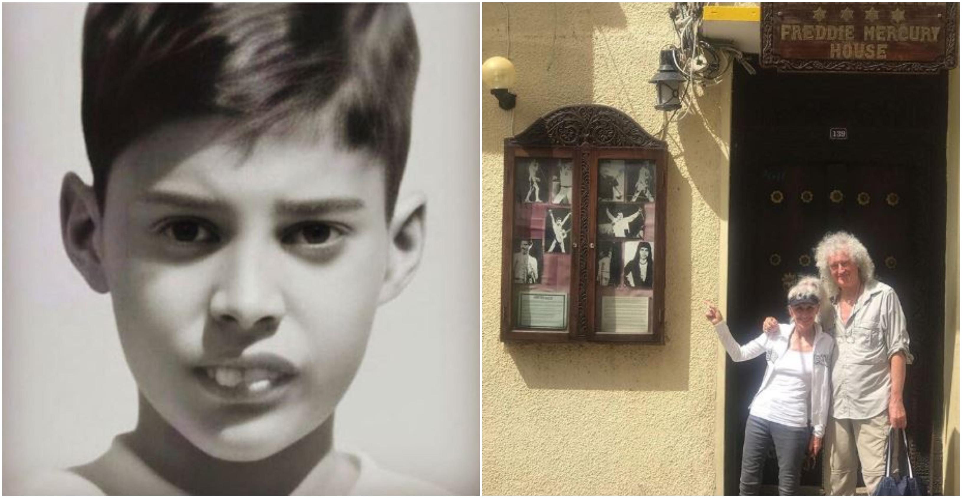 Brian May visita la casa natale e la scuola di Freddie Mercury a Zanzibar [FOTO]