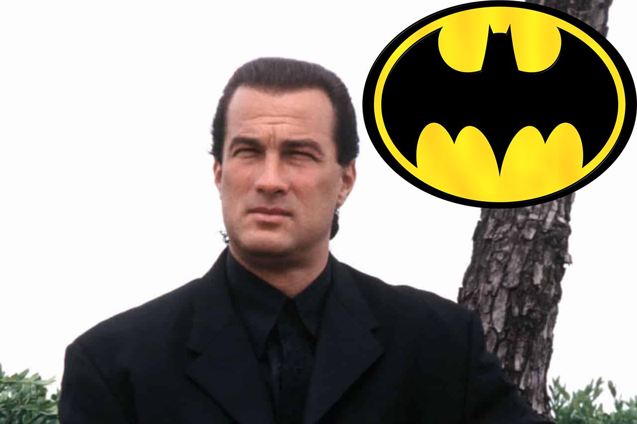 Steven Segal era stato preso in considerazione come Batman nel film del 1989