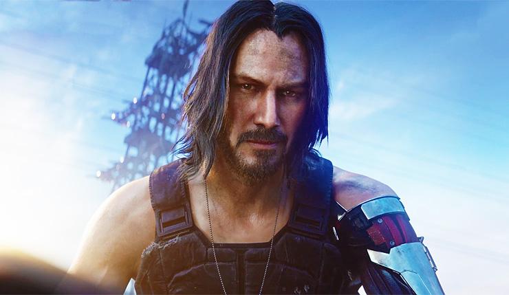 Cyberpunk 2077: a sorpresa Keanu Reeves nel videogioco