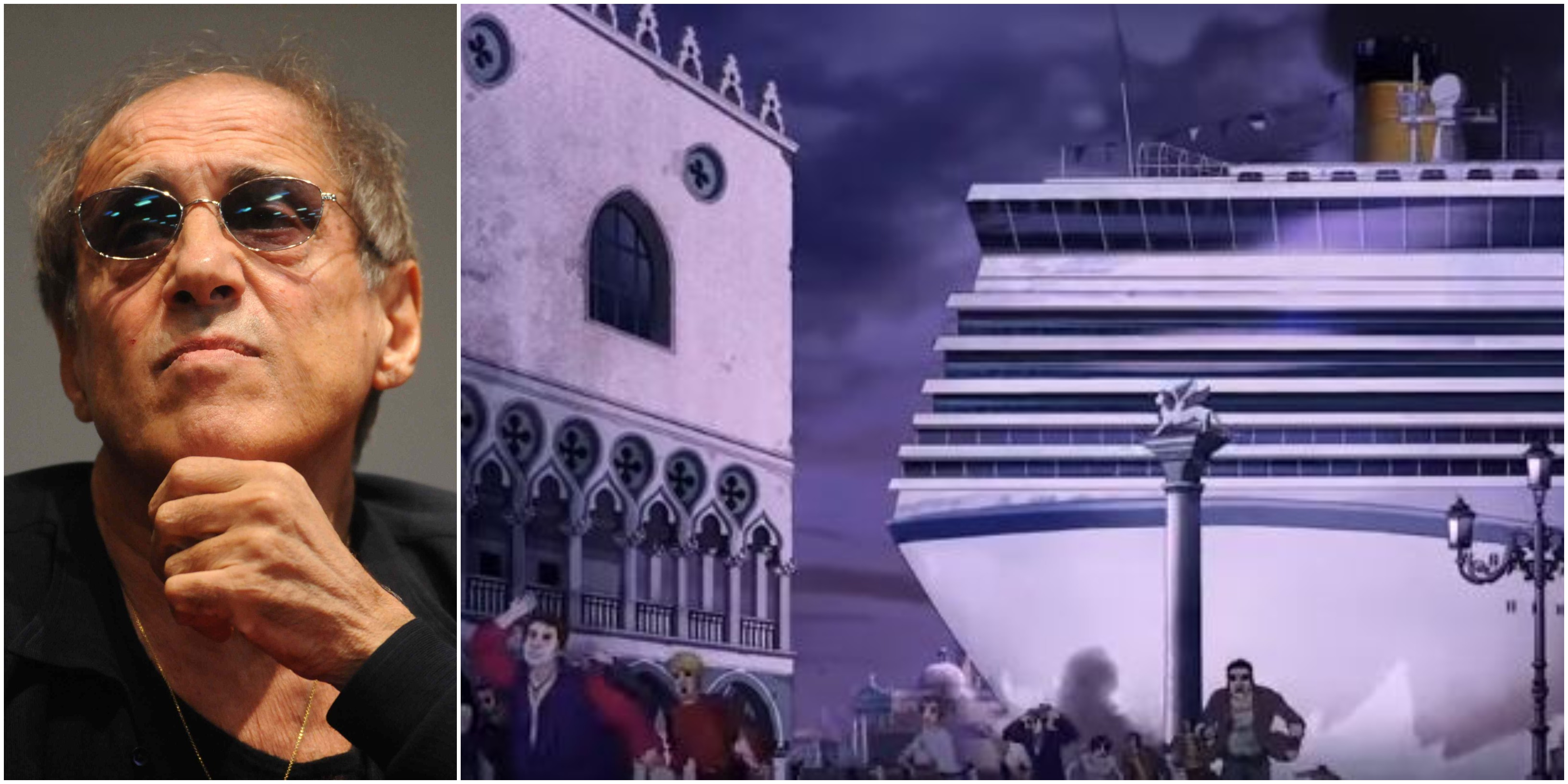 Adrian 'profetico': l'incidente della nave a Venezia già previsto da Celentano?