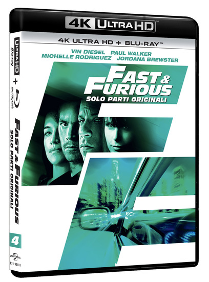 FAST AND FURIOUS 4 IN HOME VIDEO IN 4K GRAZIE A UNIVERSAL