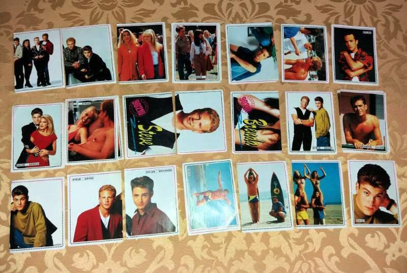 Beverly Hills 90210, ritornano le figurine (digitali) per il revival della serie