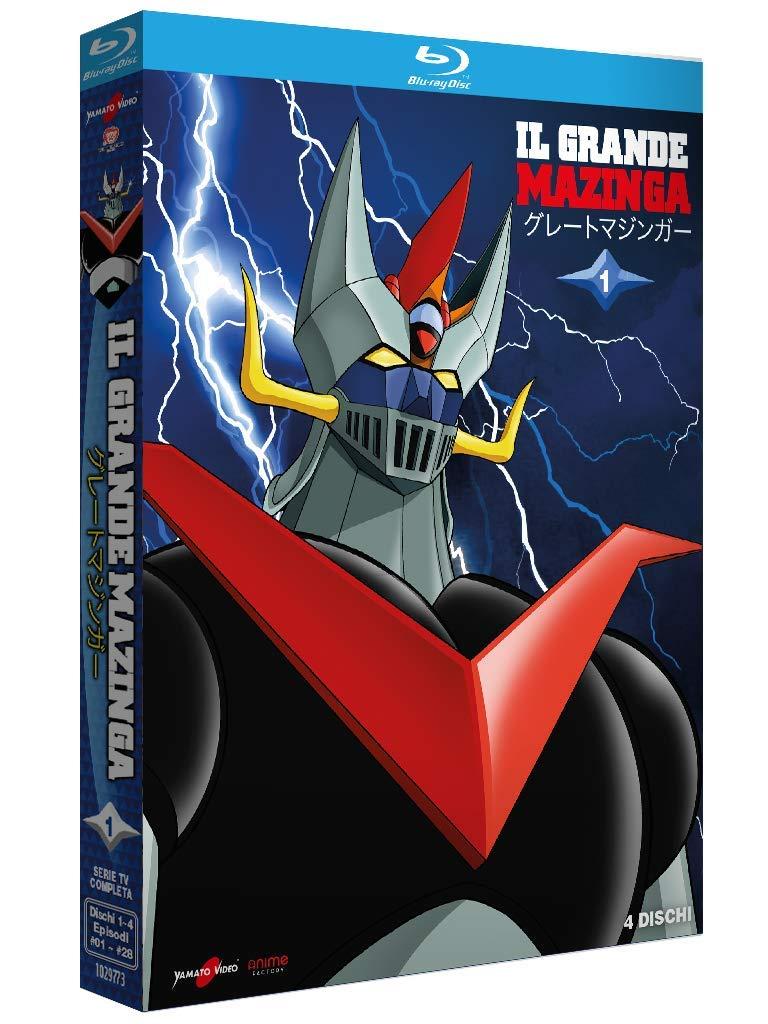 Il Grande Mazinga arriva in dvd e blu-ray grazie a Koch Media