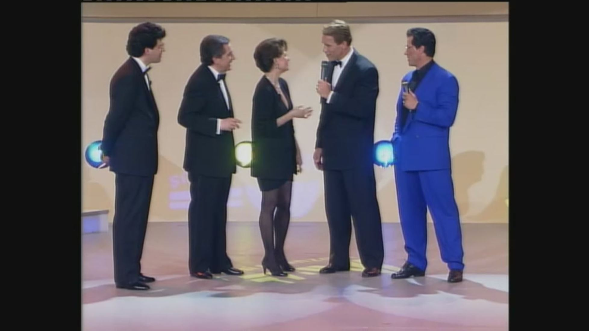 Sylvester Stallone compie 73 anni: quando nel 1992 si incontrò con Arnold schwarzenegger ai Telegatti