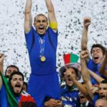 9 luglio 2006: l'Italia diventata campione del mondo
