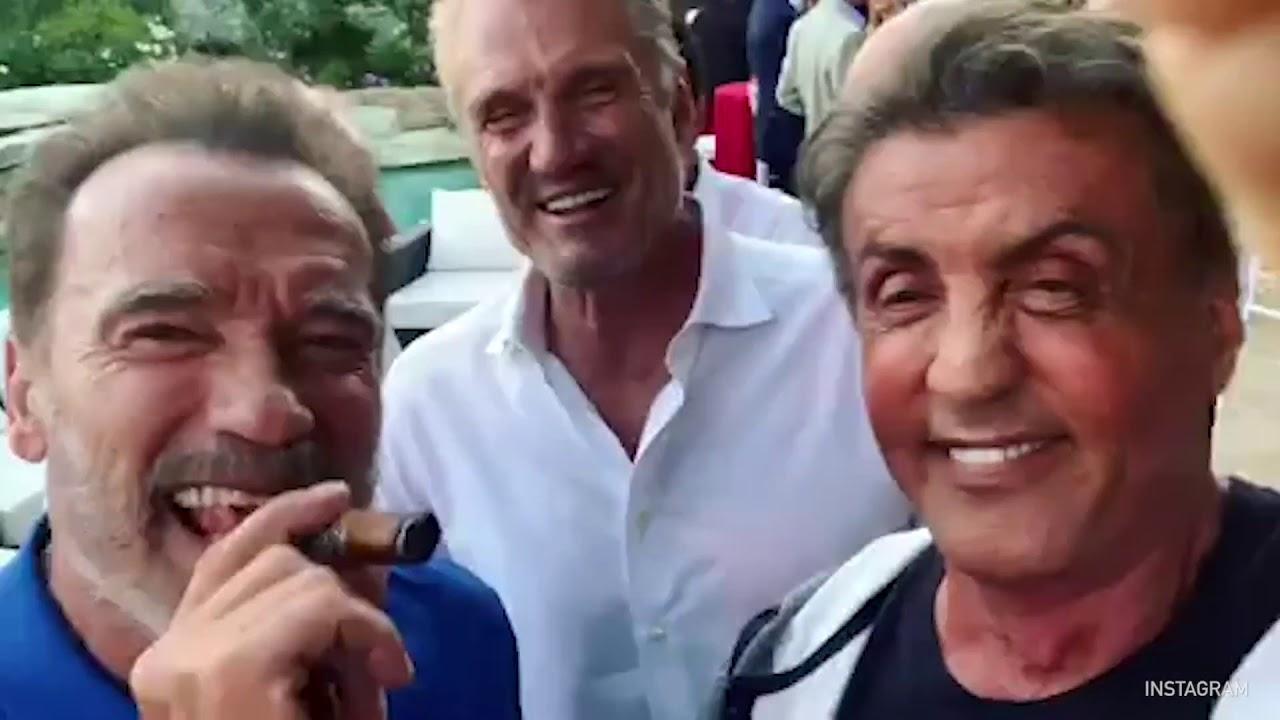 Schwarzenegger, Stallone e Lundgren stuzzicano i fan con un video