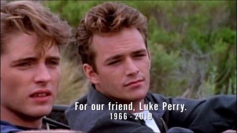 Beverly Hills 90210 revival: tutti i riferimenti a Luke Perry nel primo episodio