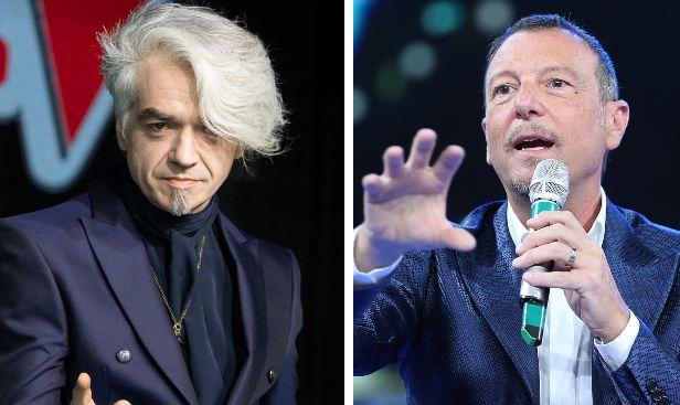 """Morgan su Amadeus a Sanremo 2020: """"Come chiamare un elettricista a riparare un lavandino"""""""