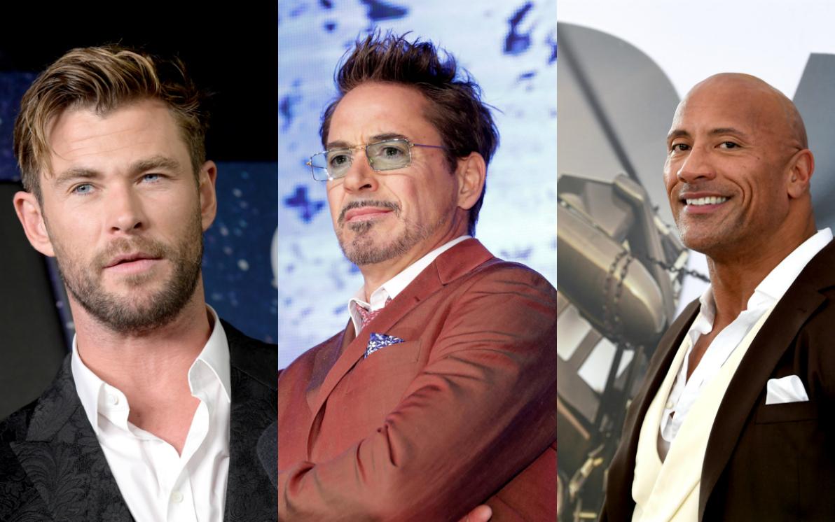 Ecco la lista degli attori di Hollywood più pagati nel 2019