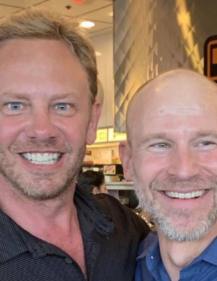 Steve Sanders e Scott Scanlon di nuovo insieme