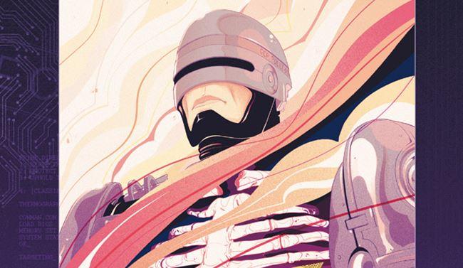 ROBOCOP VIVO O MORTO:  il primo volume del sequel a fumetti di Robocop in vendita grazie a SALDAPRESS