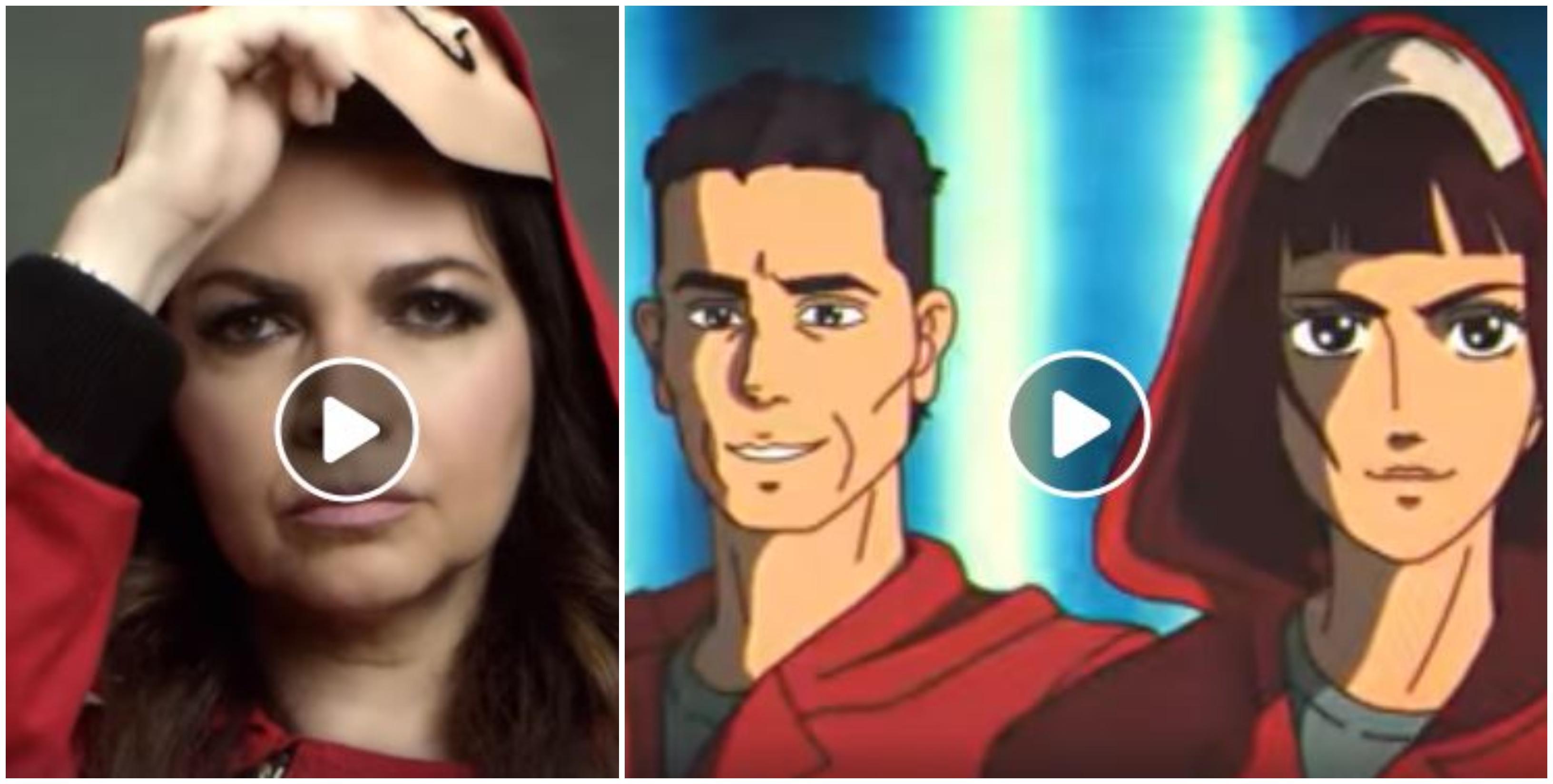 """Cristina D'Avena canta la sigla de """"La Casa di Carta"""" versione cartone animato [VIDEO]"""