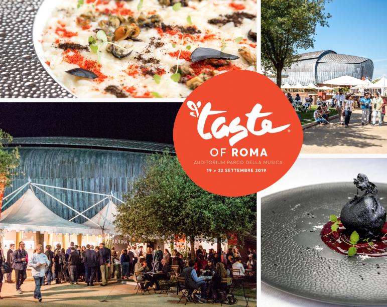 Taste of Roma: dal 19 al 22 settembre si celebra l'alta cucina in collaborazione con grandi partner!
