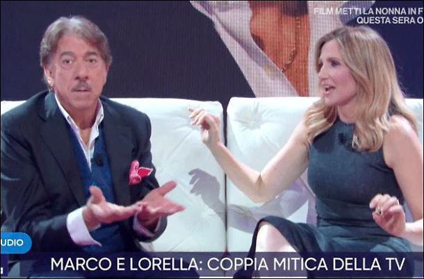 """Marco Columbro a Lorella Cuccarini: """"Ti ho regalato le rose rosse tutte le mattine"""""""