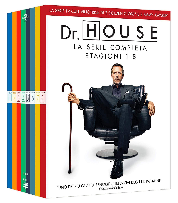 Dr.House in home video con il cofanetto dvd contenente le 8 stagione