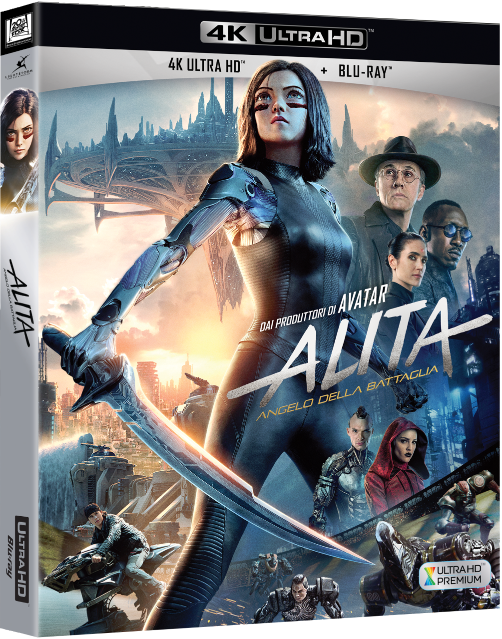 ALITA: ANGELO DELLA BATTAGLIA in Home Video in 4k con ore di contenuti speciali