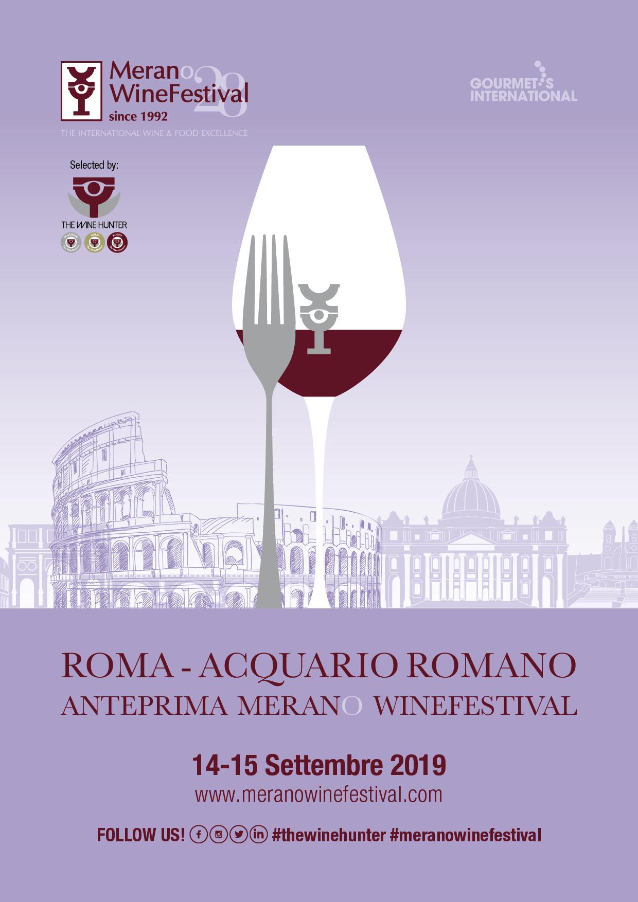 Merano WineFestival 2019, l'anteprima nazionale a Roma: il programma