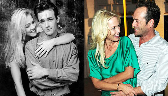 Jennie Garth posta una dedica speciale ai fan e a Luke Perry
