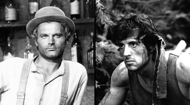 Terence Hill poteva essere Rambo