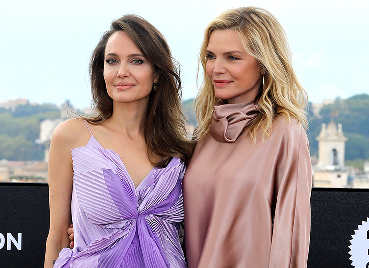 "Angelina Jolie e Michelle Pfeiffer a Roma per ""Maleficent 2"""