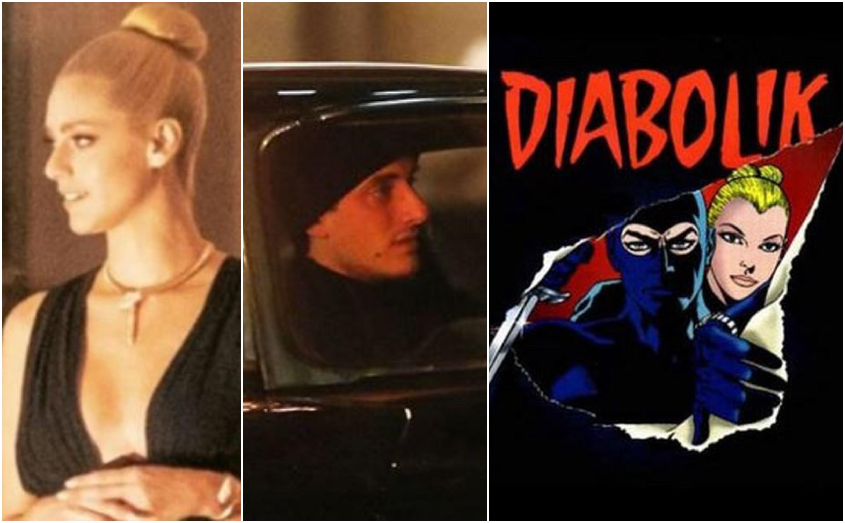 Diabolik il film, le prime immagini dal set