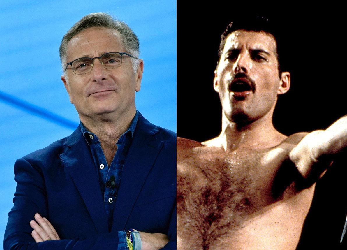 """Paolo Bonolis:""""Freddie Mercury mi fece delle avances e mi regalò i biglietti per il concerto di Wembley"""""""