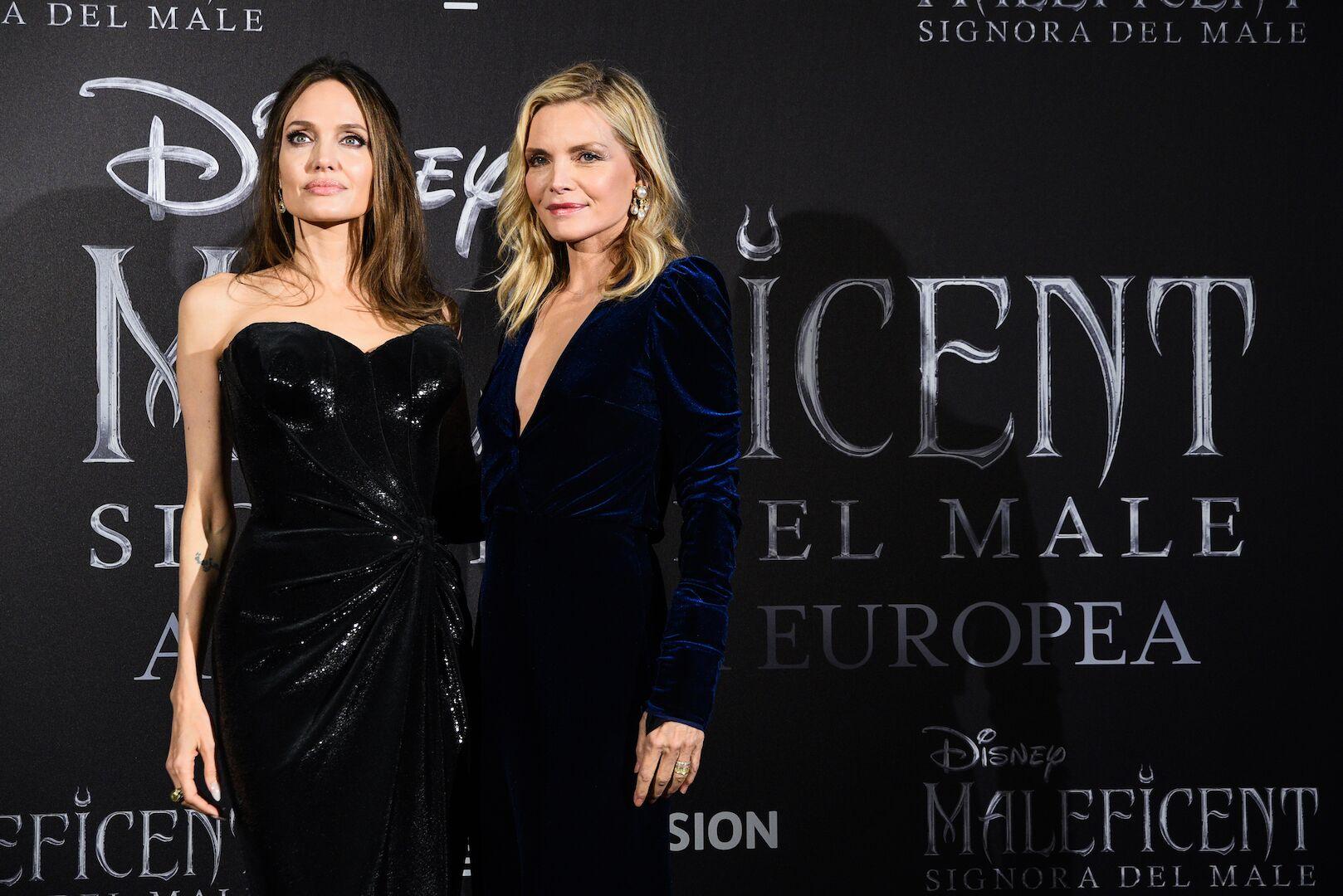 Angelina Jolie e Michelle Pfeiffer hanno presentato in anteprima europea con Alice nella Città il nuovo film Disney Maleficent – Signora del Male