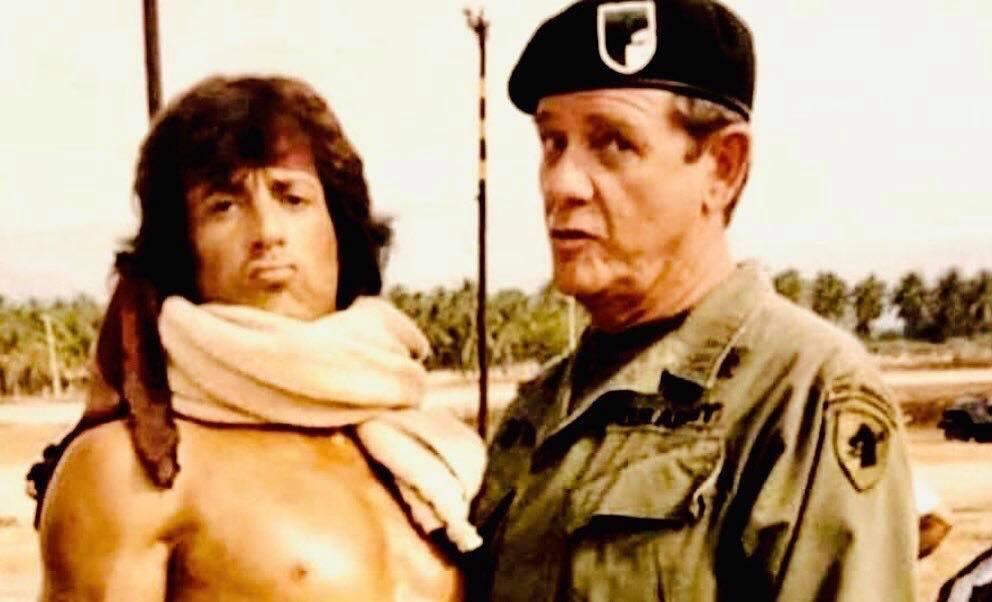 """Stallone ricorda Richard Crenna, il colonnello Trautman in Rambo: """"Mi manca il suo talento"""""""