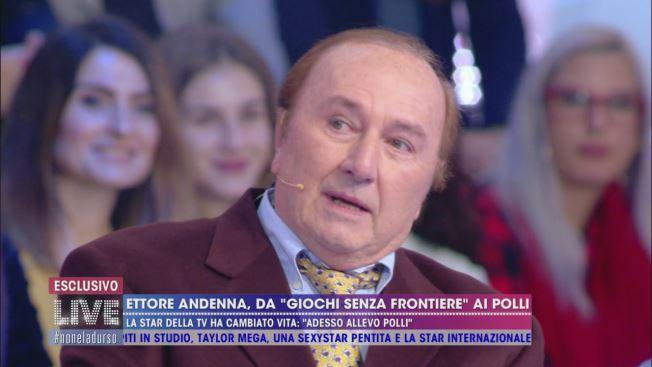 """Ettore Andenna: """"Conducevo giochi senza frontiere, adesso allevo polli"""""""