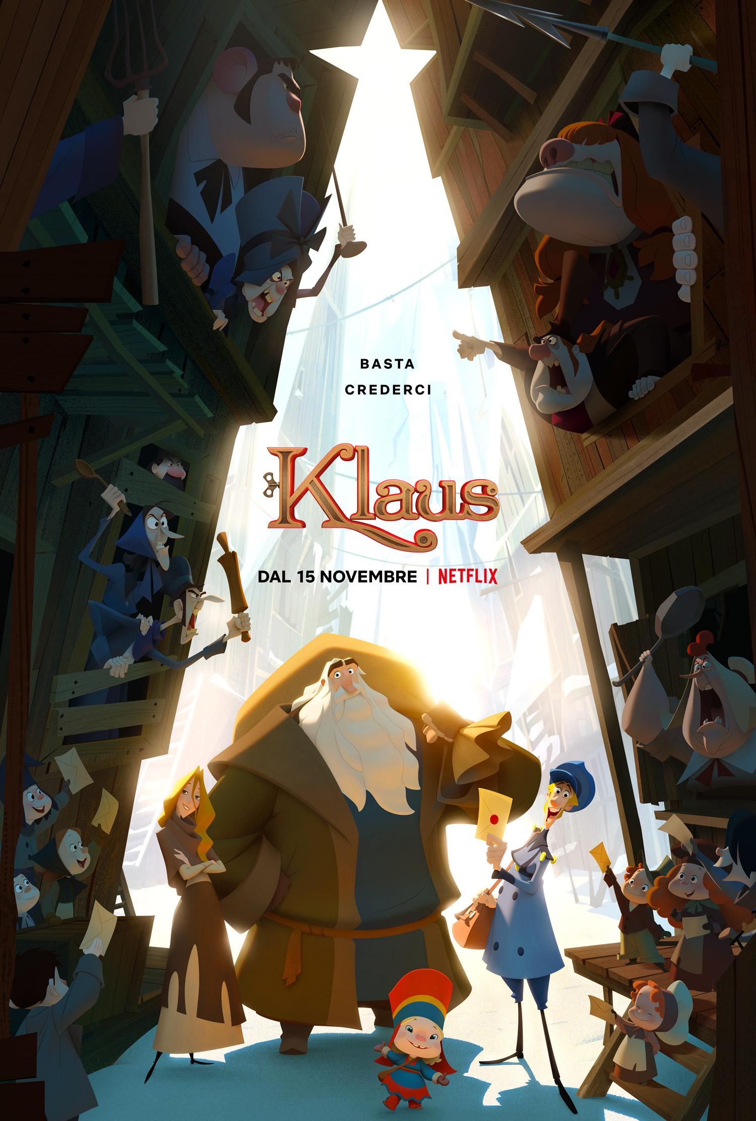 Klaus, la recensione del film di Natale di NETFLIX
