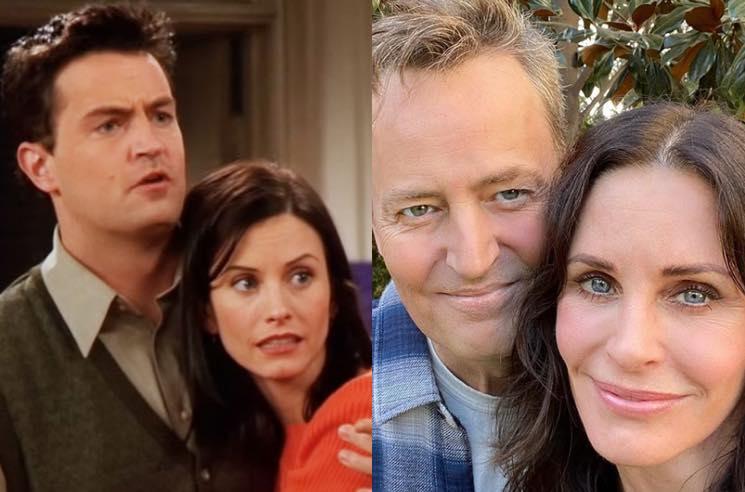 """Friends: piccola reunion tra """"Monica"""" e """"Chandler"""""""