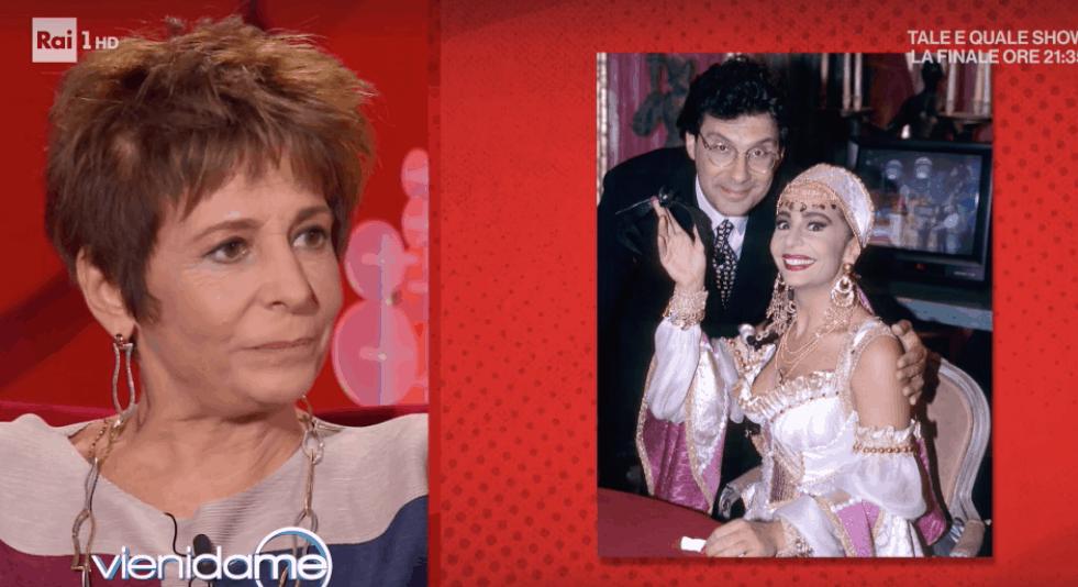 Cloris Brosca ripercorre il successo della sua Zingara e ricorda Fabrizio Frizzi