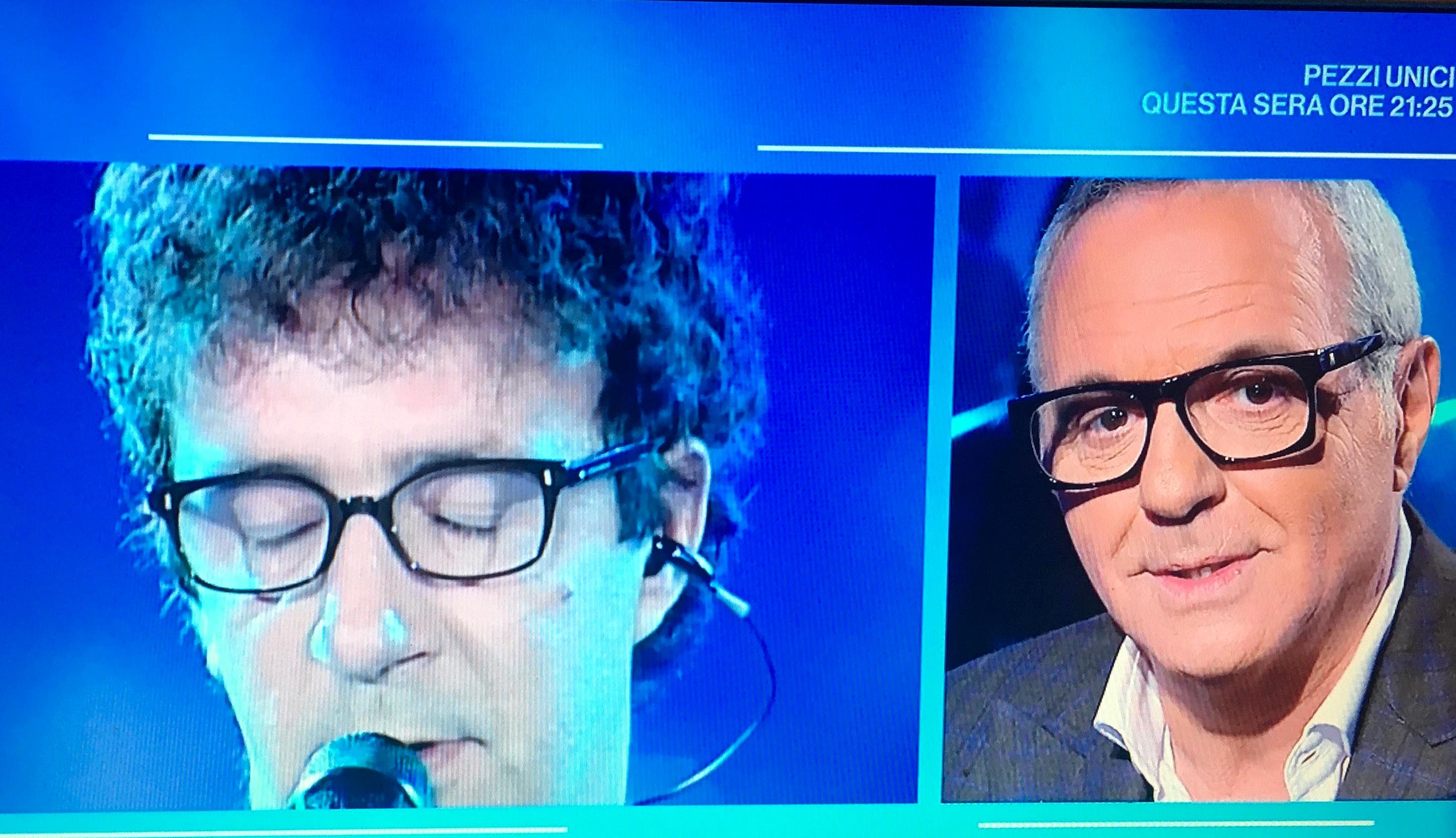 """Giorgio Panariello: """"Francesco Nuti, l'ultima volta in scena con me"""""""