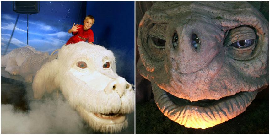 Il museo della Storia Infinita dove si può cavalcare Falkor come Atreyu