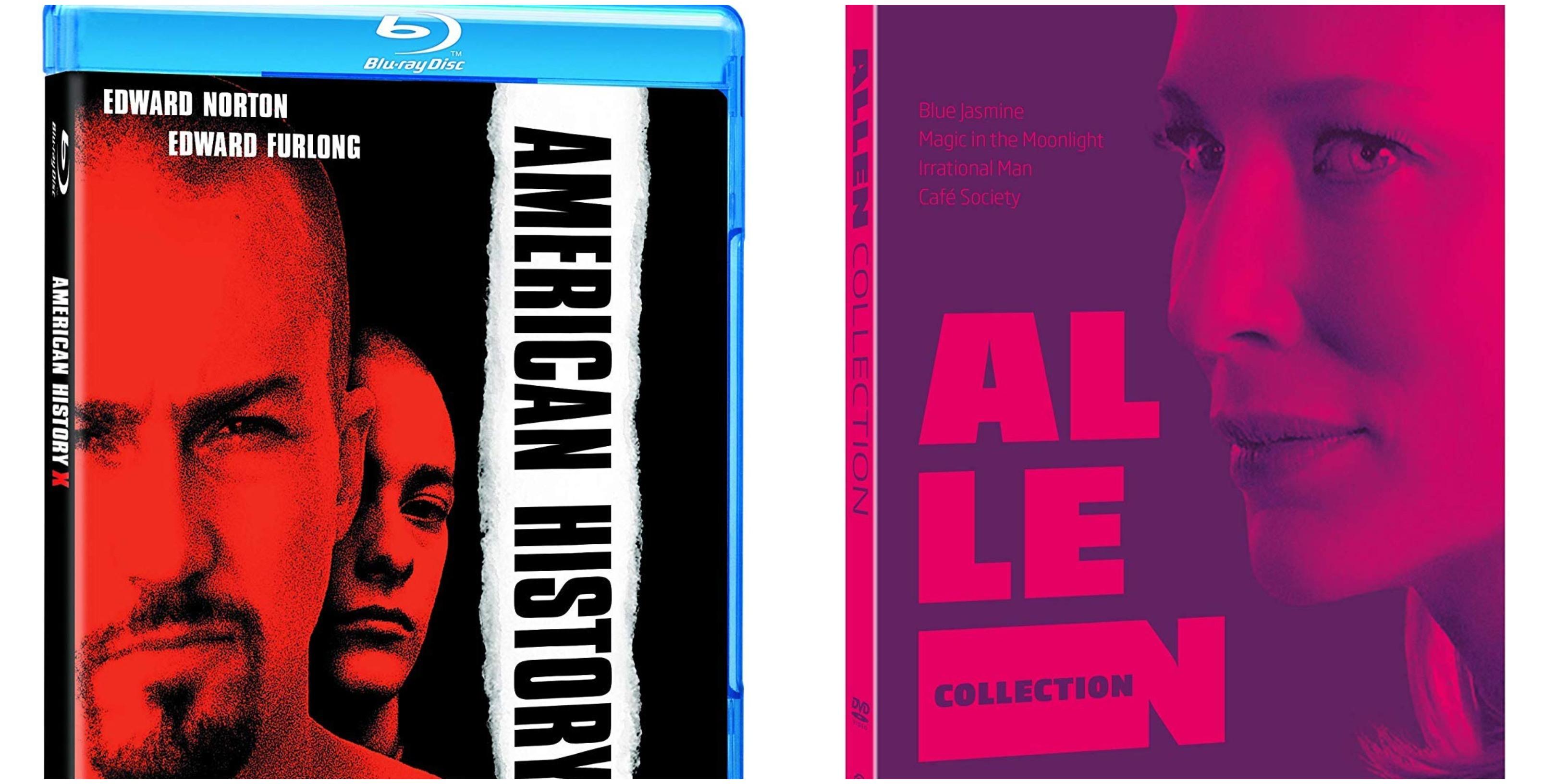 Home video novembre Warner Bros: American History X e Woody Allen