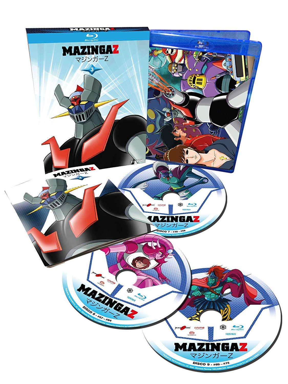 Mazinga Z – Volume 3: le foto dell'edizione in Blu-Ray