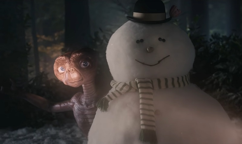 Reunion E.T, ecco il video backstage del bellissimo spot di Natale