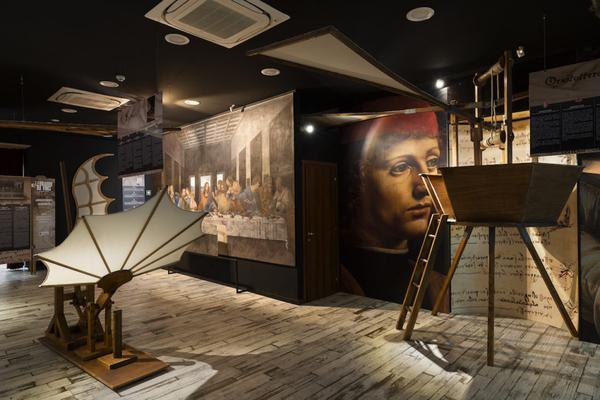 Leonardo Da Vinci Experience, la mostra di Roma dedicata al Genio del Rinascimento