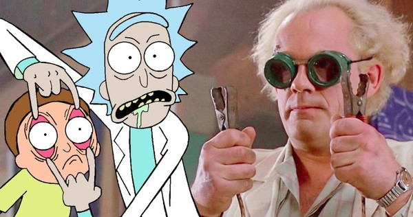 Ritorno al Futuro: a Christopher Lloyd piacerebbe un crossover con Rick e Morty