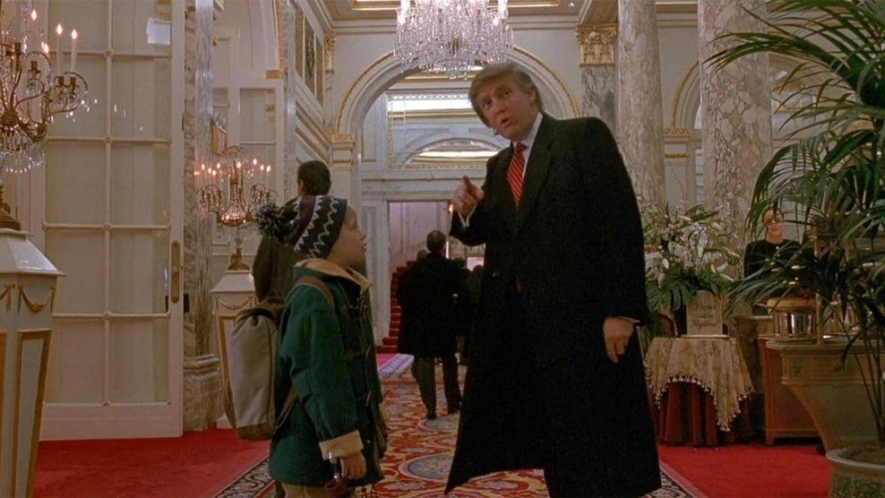 Mamma ho Riperso l'Aereo: Donald Trump ricorda con molto piacere il suo cameo