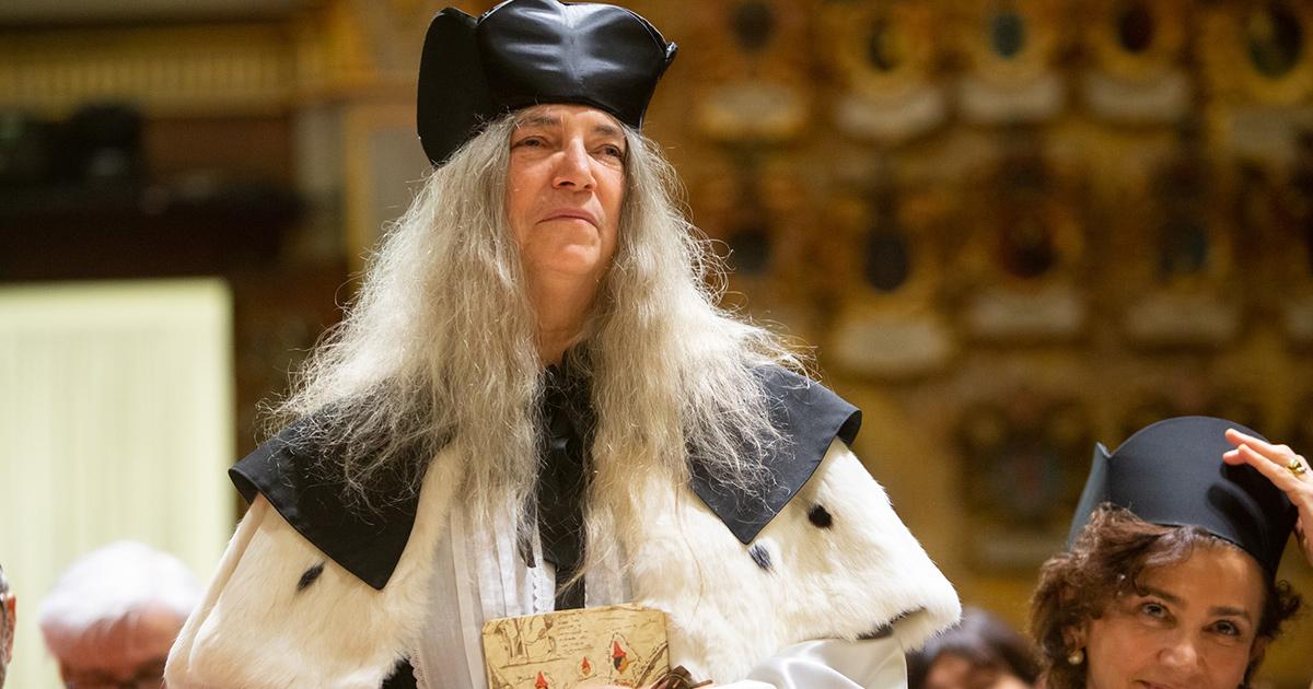 Patti Smith, laurea ad honorem dall'università di Padova