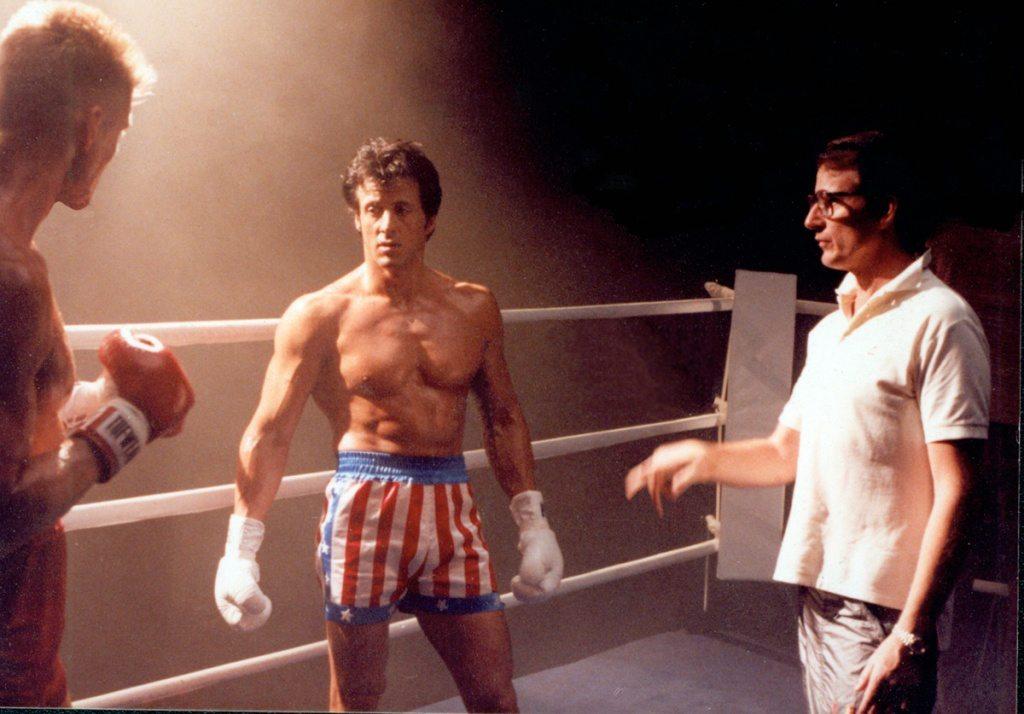 Stallone condivide una rara foto di Rocky 4 con Dolph Lundgren