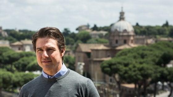 Tom Cruise torna a Roma: un mese di riprese per il suo nuovo film action