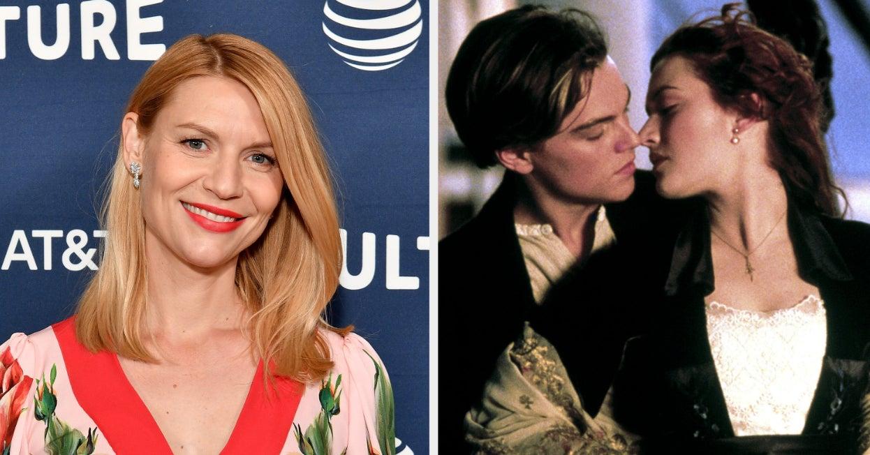 """Claire Danes poteva essere Rose in """"Titanic"""", ma rifiutò per paura della popolarità"""